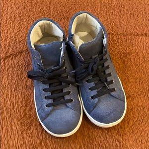 Boy's il gufo high-tops sneaker US size 10